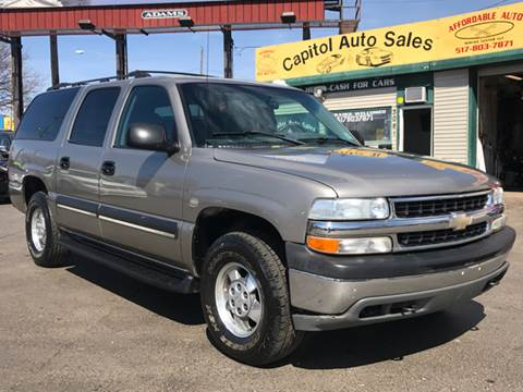 2003 Chevrolet Suburban for sale at Capitol Auto Sales in Lansing MI