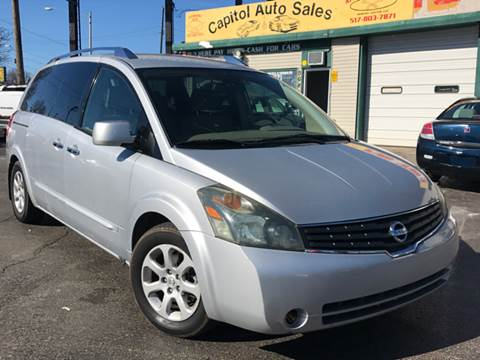 2007 Nissan Quest for sale at Capitol Auto Sales in Lansing MI