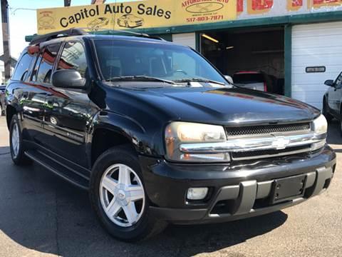 2003 Chevrolet TrailBlazer for sale at Capitol Auto Sales in Lansing MI