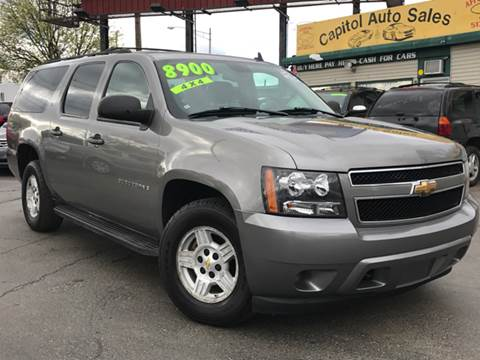 2007 Chevrolet Suburban for sale at Capitol Auto Sales in Lansing MI