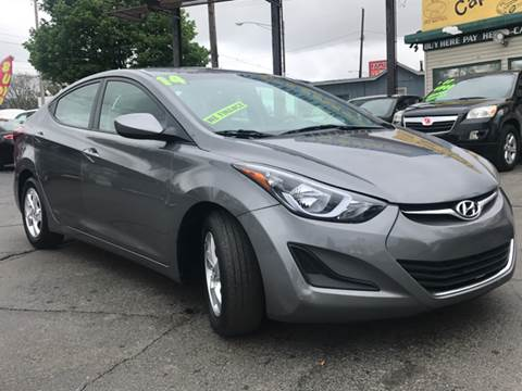 2014 Hyundai Elantra for sale at Capitol Auto Sales in Lansing MI