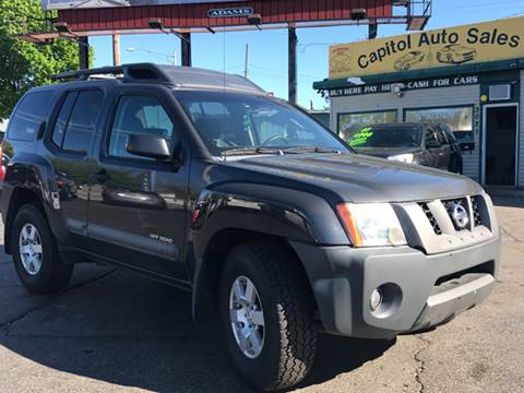 2005 Nissan Xterra for sale at Capitol Auto Sales in Lansing MI