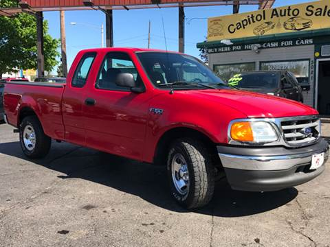 2004 Ford F-150 Heritage for sale at Capitol Auto Sales in Lansing MI