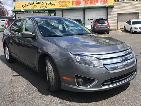 2010 Ford Fusion for sale at Capitol Auto Sales in Lansing MI