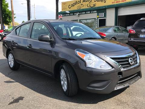 2015 Nissan Versa for sale at Capitol Auto Sales in Lansing MI