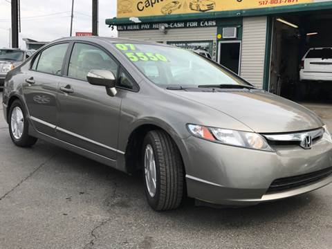 2007 Honda Civic for sale at Capitol Auto Sales in Lansing MI