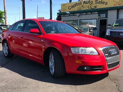 2008 Audi A6 for sale at Capitol Auto Sales in Lansing MI