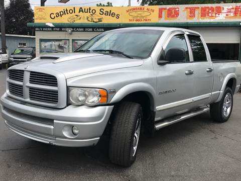 2005 Dodge Ram Pickup 1500 for sale at Capitol Auto Sales in Lansing MI