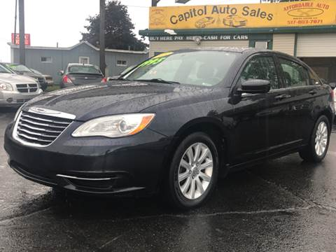 2011 Chrysler 200 for sale at Capitol Auto Sales in Lansing MI