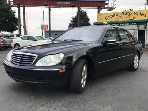 2006 Mercedes-Benz S-Class for sale at Capitol Auto Sales in Lansing MI