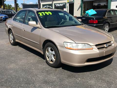2000 Honda Accord for sale at Capitol Auto Sales in Lansing MI