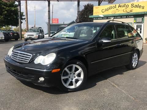 2005 Mercedes-Benz C-Class for sale at Capitol Auto Sales in Lansing MI