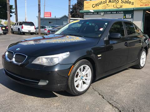2009 BMW 5 Series for sale at Capitol Auto Sales in Lansing MI