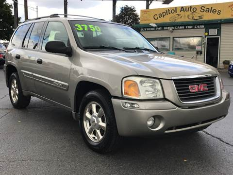 2002 GMC Envoy for sale at Capitol Auto Sales in Lansing MI