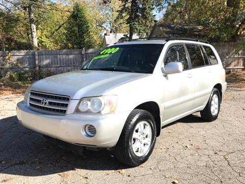 2003 Toyota Highlander for sale at Capitol Auto Sales in Lansing MI