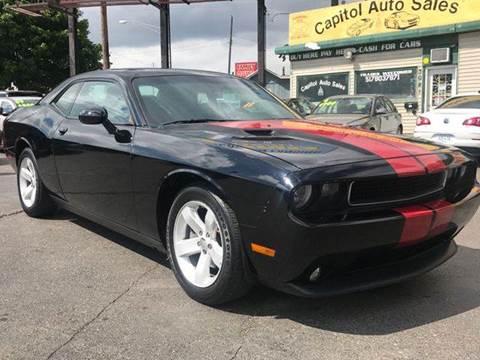 2013 Dodge Challenger for sale at Capitol Auto Sales in Lansing MI