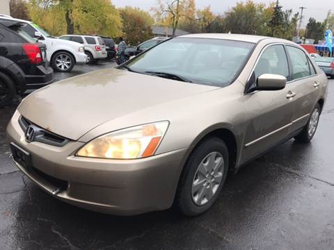 2003 Honda Accord for sale at Capitol Auto Sales in Lansing MI