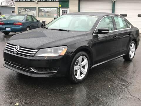 2013 Volkswagen Passat for sale at Capitol Auto Sales in Lansing MI
