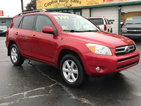 2007 Toyota RAV4 for sale at Capitol Auto Sales in Lansing MI