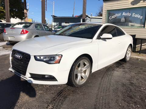 2015 Audi A5 for sale at Capitol Auto Sales in Lansing MI