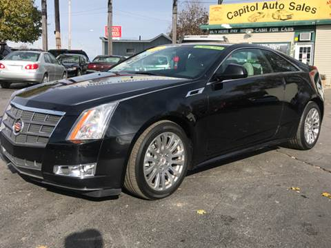 2011 Cadillac CTS for sale at Capitol Auto Sales in Lansing MI