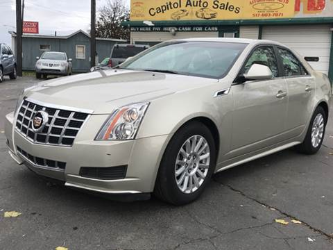 2013 Cadillac CTS for sale at Capitol Auto Sales in Lansing MI