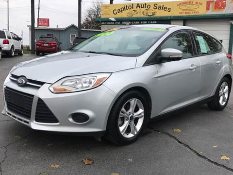 2013 Ford Focus for sale at Capitol Auto Sales in Lansing MI