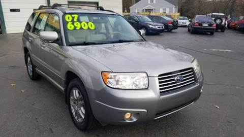 2007 Subaru Forester for sale at Capitol Auto Sales in Lansing MI