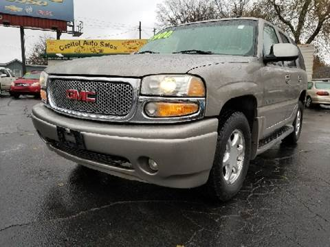 2002 GMC Yukon for sale at Capitol Auto Sales in Lansing MI