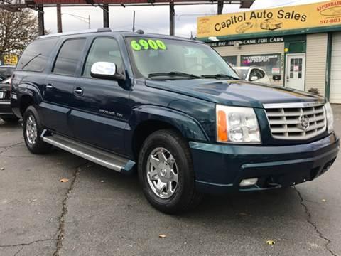 2005 Cadillac Escalade ESV for sale at Capitol Auto Sales in Lansing MI