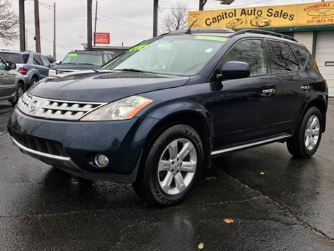 2006 Nissan Murano for sale at Capitol Auto Sales in Lansing MI