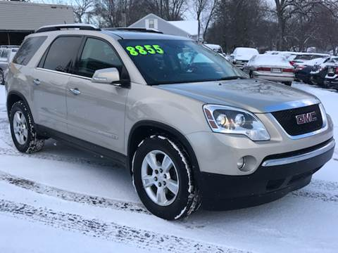 2008 GMC Acadia for sale at Capitol Auto Sales in Lansing MI