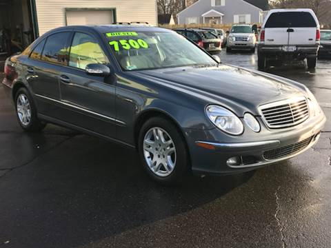2005 Mercedes-Benz E-Class for sale at Capitol Auto Sales in Lansing MI