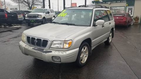 2001 Subaru Forester for sale at Capitol Auto Sales in Lansing MI