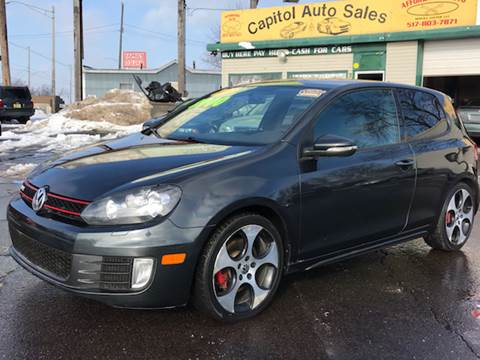 2012 Volkswagen GTI for sale at Capitol Auto Sales in Lansing MI