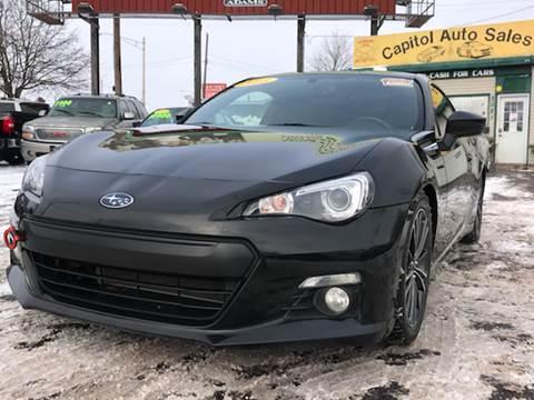 2013 Subaru BRZ for sale at Capitol Auto Sales in Lansing MI