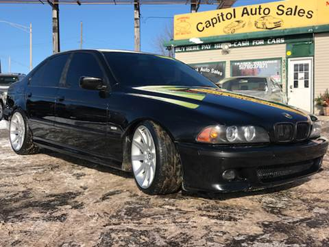 2003 BMW 5 Series for sale at Capitol Auto Sales in Lansing MI