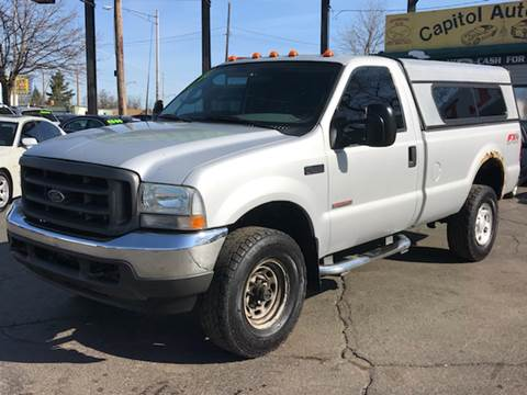 2003 Ford F-350 Super Duty for sale at Capitol Auto Sales in Lansing MI