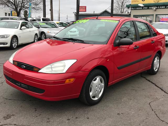 2002 Ford Focus Lx 4dr Sedan In Lansing Mi Capitol Auto Sales