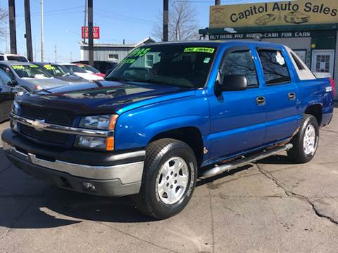 2003 Chevrolet Avalanche for sale at Capitol Auto Sales in Lansing MI