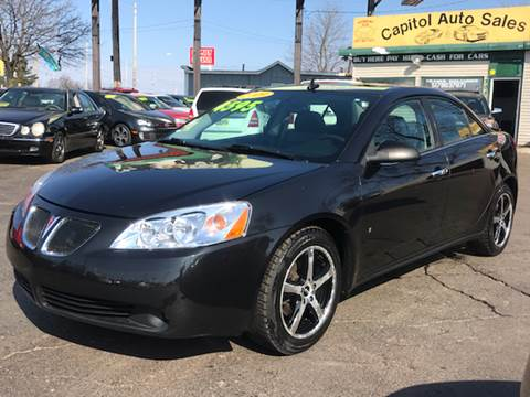 2009 Pontiac G6 for sale at Capitol Auto Sales in Lansing MI