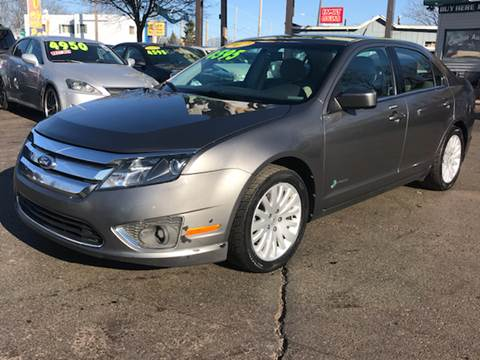 2011 Ford Fusion Hybrid for sale at Capitol Auto Sales in Lansing MI