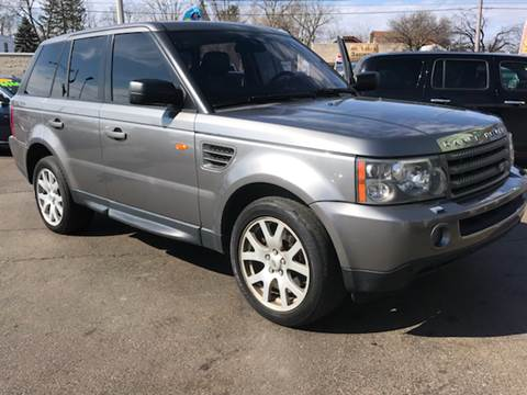 2007 Land Rover Range Rover Sport for sale at Capitol Auto Sales in Lansing MI