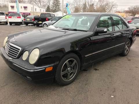 2000 Mercedes-Benz E-Class for sale at Capitol Auto Sales in Lansing MI
