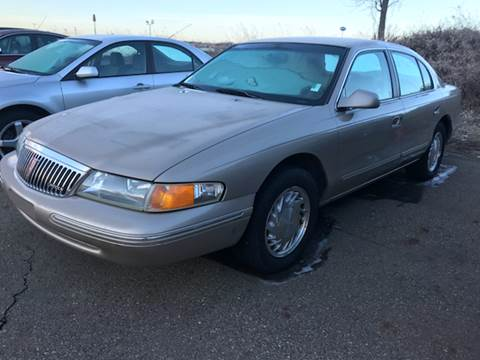 1997 Lincoln Continental for sale at Capitol Auto Sales in Lansing MI