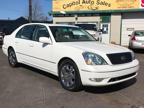 2001 Lexus LS 430 for sale at Capitol Auto Sales in Lansing MI