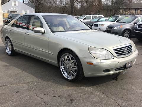 2002 Mercedes-Benz S-Class for sale at Capitol Auto Sales in Lansing MI