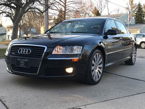 2007 Audi A8 L for sale at Capitol Auto Sales in Lansing MI