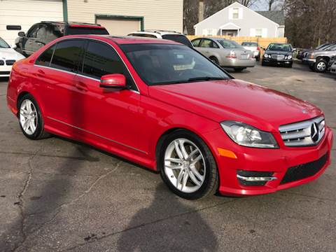 2013 Mercedes-Benz C-Class for sale at Capitol Auto Sales in Lansing MI