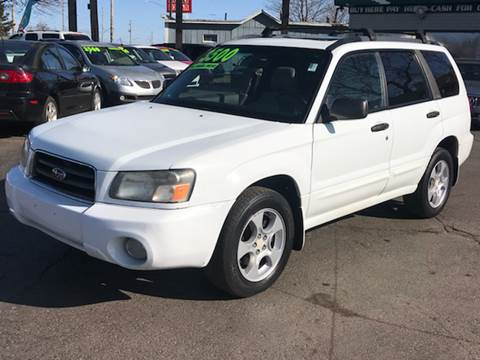 2003 Subaru Forester for sale at Capitol Auto Sales in Lansing MI
